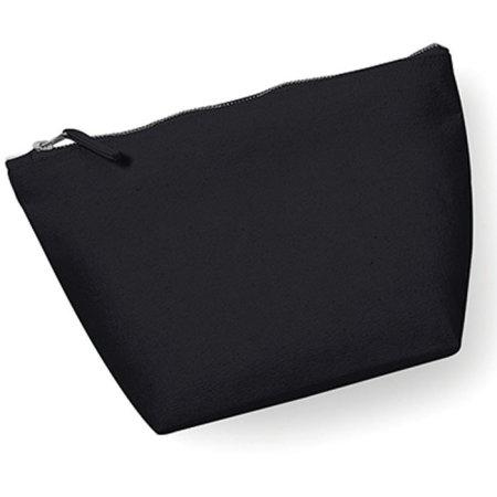 Canvas Accessory Bag in Black von Westford Mill (Artnum: WM540