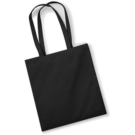EarthAware™ Organic Bag for Life in Black von Westford Mill (Artnum: WM801