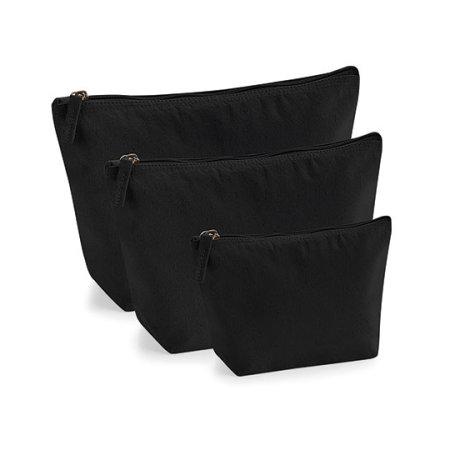EarthAware™ Organic Accessory Bag in Black von Westford Mill (Artnum: WM840