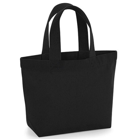 EarthAware™ Organic Marina Mini Bag in Black von Westford Mill (Artnum: WM845