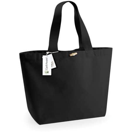 EarthAware™ Organic Marina Bag XL in Black von Westford Mill (Artnum: WM855