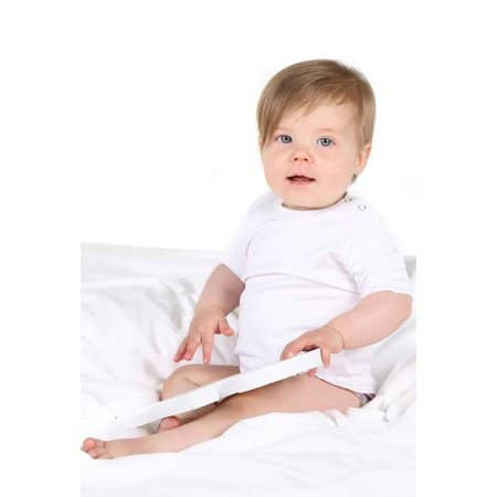 Short Sleeve Baby T-Shirt Polyester von Link Sublime (Artnum: X803