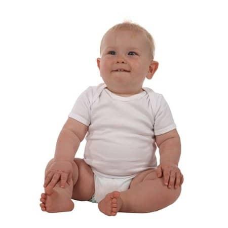 Short Sleeve Baby Bodysuit von Link Kids Wear (Artnum: X940