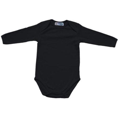 Bio Body Suite Long Sleeve in Black von Link Kids Wear (Artnum: X945