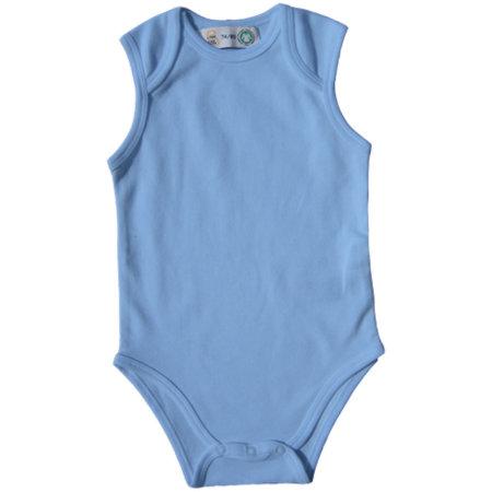 Bio Bodysuit Vest in Babyblue von Link Kids Wear (Artnum: X948