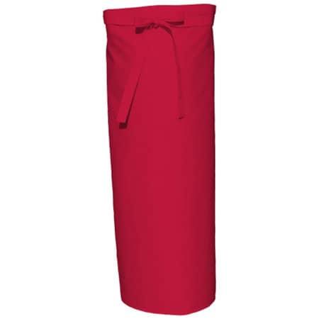 Bistro Apron XL in Red von Link Kitchen Wear (Artnum: X961