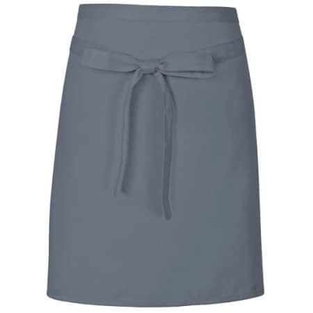 Pizza Apron in Dark Grey (ca. Pantone 431) von Link Kitchen Wear (Artnum: X984