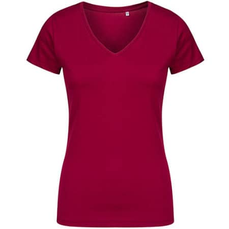 Women´s V-Neck T-Shirt von X.O by Promodoro (Artnum: XO1525