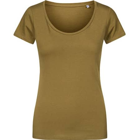 Women´s Deep Scoop T-Shirt von X.O by Promodoro (Artnum: XO1545