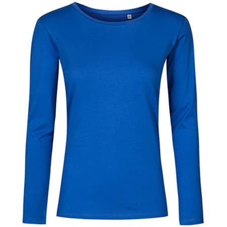 Women´s Roundneck T-Shirt Longsleeve von X.O by Promodoro (Artnum: XO1565