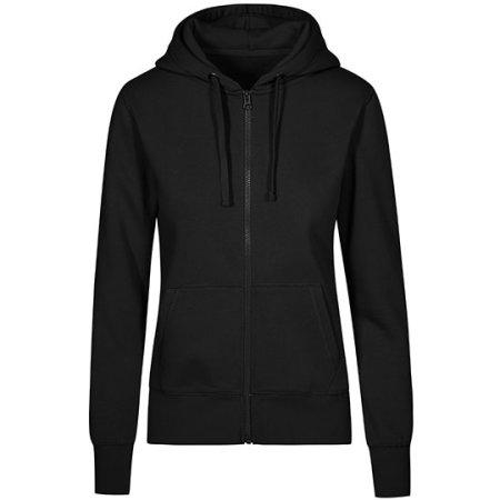 X.O Hoody Jacket Women in Black von X.O by Promodoro (Artnum: XO1751
