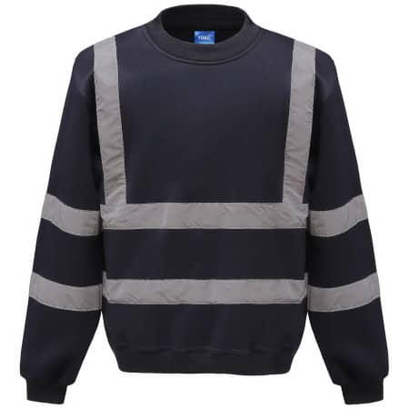 High Visibility Sweatshirt von YOKO (Artnum: YK510