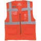 Thumbnail Westen in : Hi Vis Top Cool Open Mesh Executive Waistcoat YK820 von YOKO