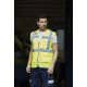 Thumbnail Westen: Hi Vis Top Cool Open Mesh Executive Waistcoat YK820 von YOKO