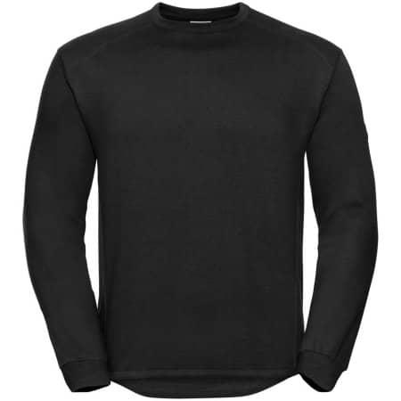 Workwear-Sweatshirt in Black von Russell (Artnum: Z013