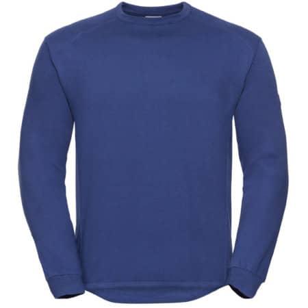 Workwear-Sweatshirt in Bright Royal von Russell (Artnum: Z013