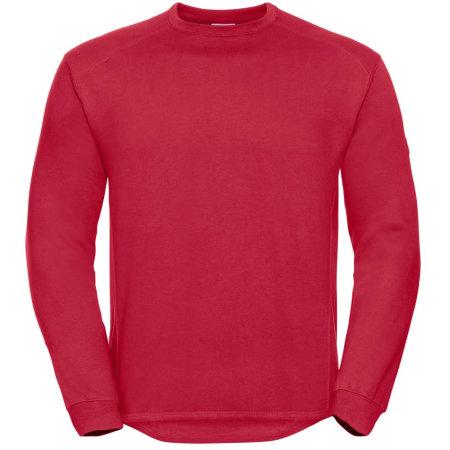 Workwear-Sweatshirt in Classic Red von Russell (Artnum: Z013