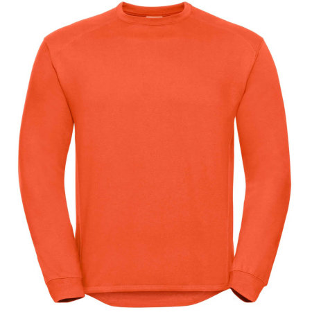 Workwear-Sweatshirt in Orange von Russell (Artnum: Z013