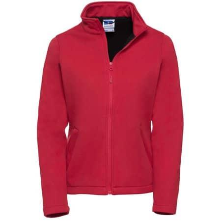 Ladies` SmartSoftshell Jacket von Russell (Artnum: Z040F