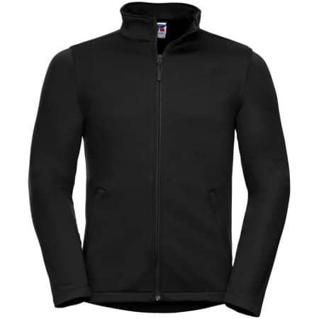 Men`s SmartSoftshell Jacket in Black von Russell (Artnum: Z040M