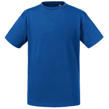 Kids Pure Organic Tee in Bright Royal von Russell Pure Organic (Artnum: Z108K