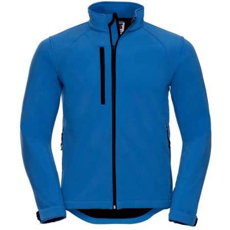 Softshell-Jacket in Azure Blue von Russell (Artnum: Z140