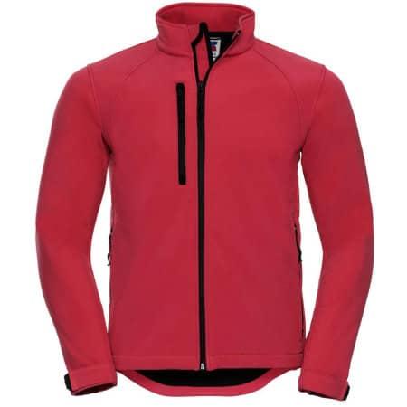 Softshell-Jacket in Classic Red von Russell (Artnum: Z140