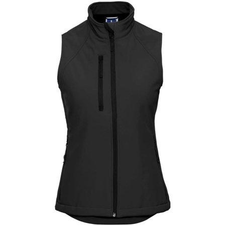 Soft Shell-Gilet für Damen in Black von Russell (Artnum: Z141F