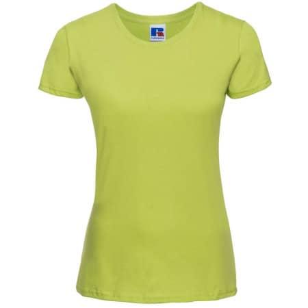 Ladies` Slim T in Lime von Russell (Artnum: Z155F