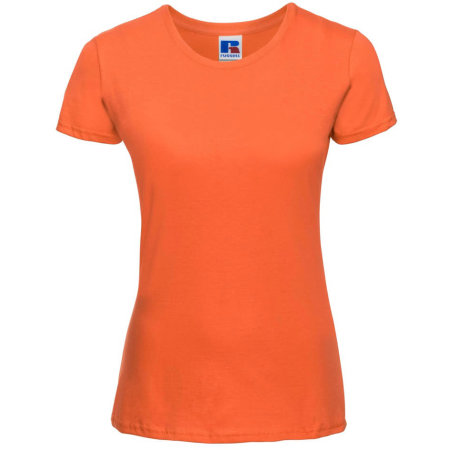 Ladies` Slim T in Orange von Russell (Artnum: Z155F