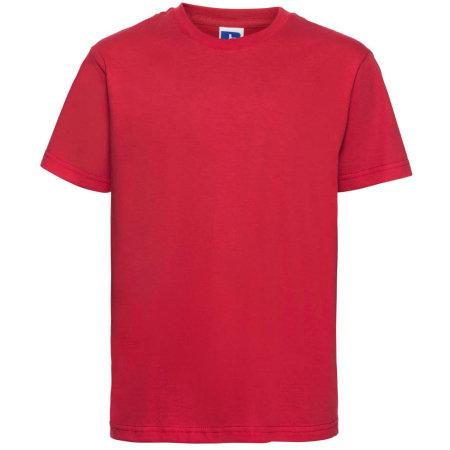 Kids` Slim T-Shirt in Classic Red von Russell (Artnum: Z155K