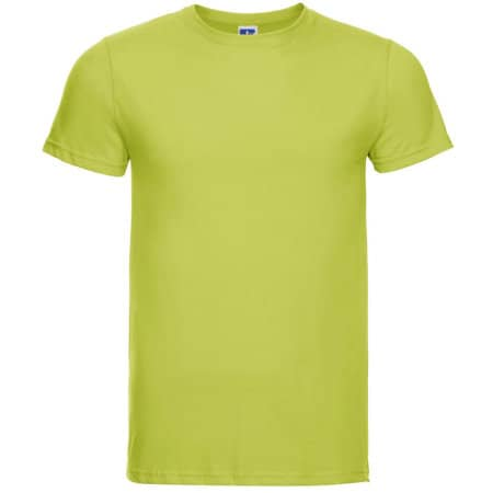 Men`s Slim T in Lime von Russell (Artnum: Z155M