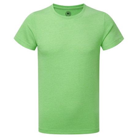 HD T-Shirt für Jungen in Green Marl von Russell (Artnum: Z165K