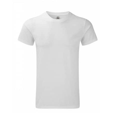 Men`s HD T-Shirt in White von Russell (Artnum: Z165M