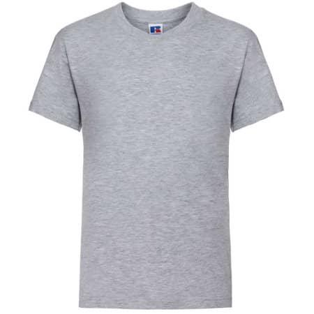 Kids` Silver Label T-Shirt von Russell (Artnum: Z180K
