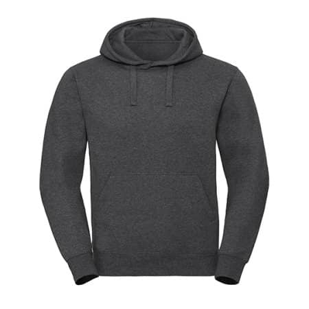 Men`s Authentic Melange Hooded Sweat von Russell (Artnum: Z261M
