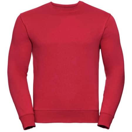 Authentic Sweatshirt in Classic Red von Russell (Artnum: Z262N