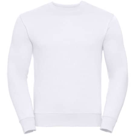 Authentic Sweatshirt in White von Russell (Artnum: Z262N