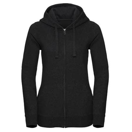 Ladies` Authentic Melange Zipped Hood Sweat von Russell (Artnum: Z263F