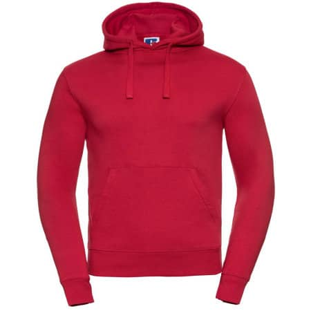 Authentic Hooded Sweat in Classic Red von Russell (Artnum: Z265