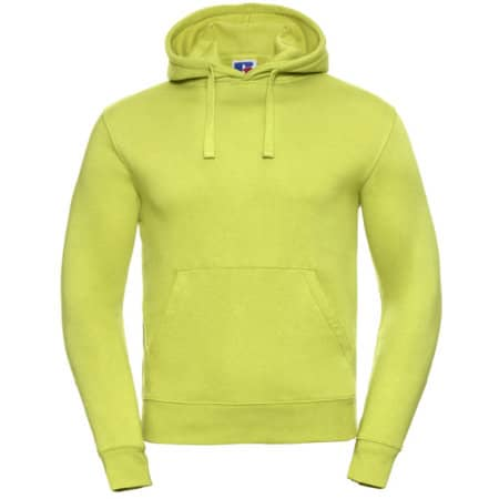 Authentic Hooded Sweat in Lime von Russell (Artnum: Z265