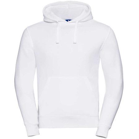 Authentic Hooded Sweat in White von Russell (Artnum: Z265