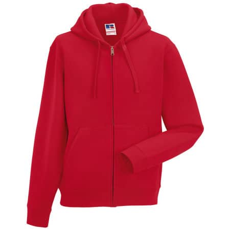 Authentic Zipped Hood in Classic Red von Russell (Artnum: Z266