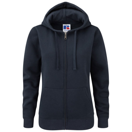 Ladies` Authentic Zipped Hood in French Navy von Russell (Artnum: Z266F