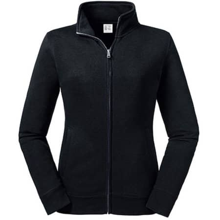 Ladies´  Authentic Sweat Jacket in Black von Russell (Artnum: Z267F