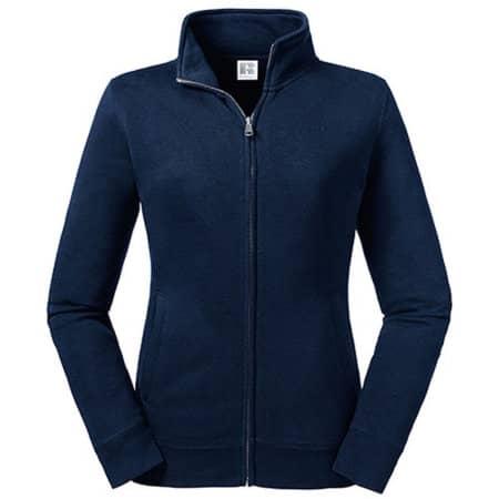 Ladies´  Authentic Sweat Jacket in French Navy von Russell (Artnum: Z267F