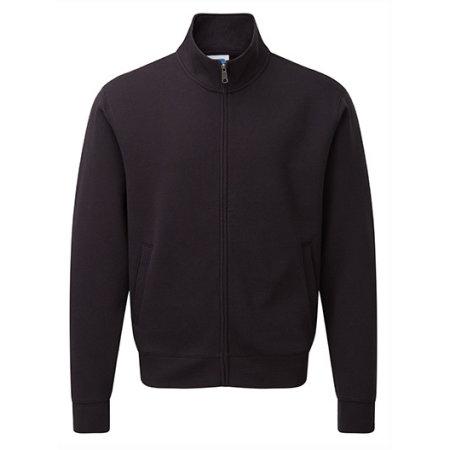 Men`s Authentic Sweat Jacket in Black von Russell (Artnum: Z267M
