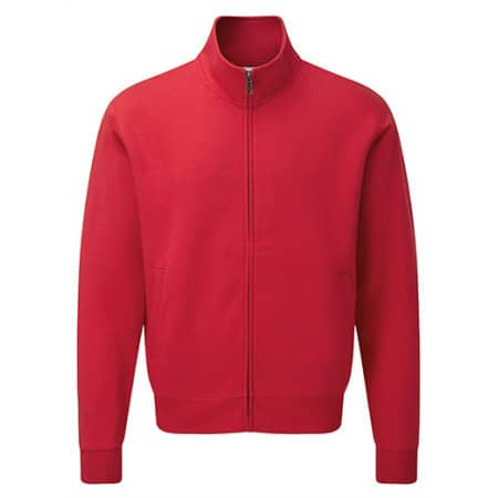 Men`s Authentic Sweat Jacket in Classic Red von Russell (Artnum: Z267M
