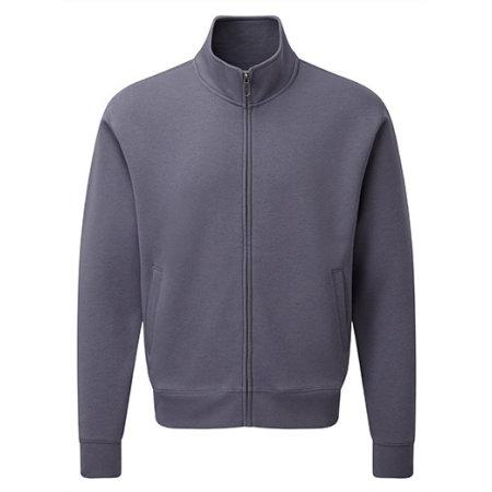 Men`s Authentic Sweat Jacket in Convoy Grey (Solid) von Russell (Artnum: Z267M