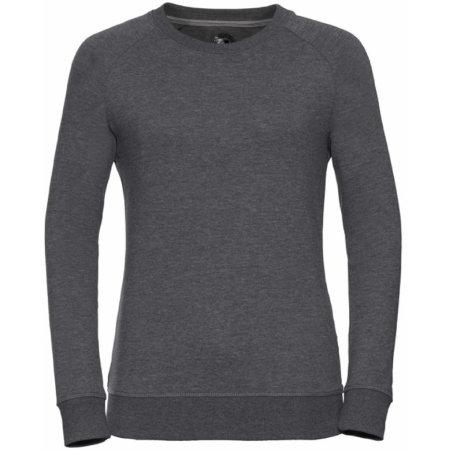 Ladies` HD Raglan Sweat in Grey Marl von Russell (Artnum: Z280F